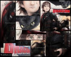 Closeup - Hiccup the Chief by Aty-S-Behsam