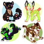 page minis set 5! by High-Yote