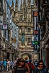 Towards the cathedral by forgottenson1