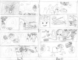 The Blob No.1 pages 9-10 by davids-sketchbook