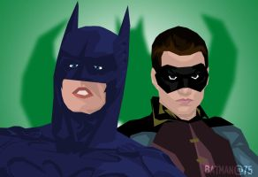 Batman@75: Batman Forever by DoctorRy
