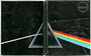 dark side of the moon notebook by MariaMC