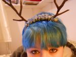 Homemade antlers 3 by Drinya