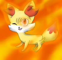 Pokemon: Fennekin! by 1nklash