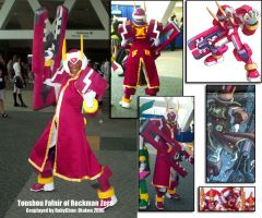 Toushou Fafnir Costume by purplerubyred