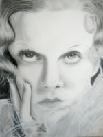 Jean Harlow by thecrow1299