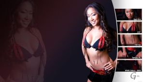 Gail Kim - WWE Wallpaper by 0PT1C5