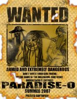 Wanted ARMED AND EXTREMELY DANGEROUS by skcin7
