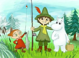 Moomin by Chevic