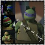 TMNT:: Donnie: Not helping by Culinary-Alchemist