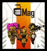 Mag bullet hell by Yoblicnep