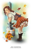 Autumn - Geocaching Pinup #1 of 4 by indigowarrior