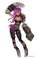 Vi from League of Legends by Chiisa