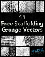 Scaffolding Grunge Vectors by fudgegraphics