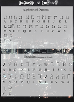 Enochian (Language of Angels) by TehPage