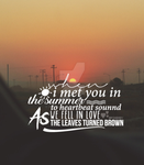 Photo Quote - Summer by PonBaby