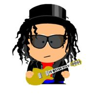 Slash In South Park by SpiderMatt512