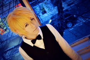 Shizuo - Black and blue by AmiTheStalker