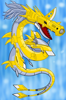 The Metal Seasnake is back o.o by Jamesu-kun