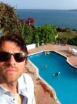 Misha and the pool. by BeyondlovesL