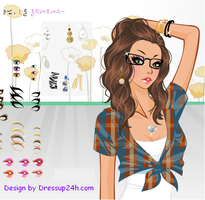 Summer Daze - Dress up Game by willbeyou