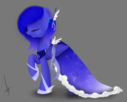 Contest Entry:Moonbeam Angel by DigitalCyn