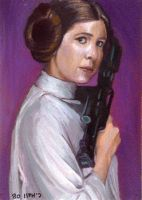 princess leia card by charles-hall