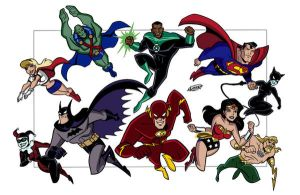 Justice League Unlimited by xXNightblade08Xx