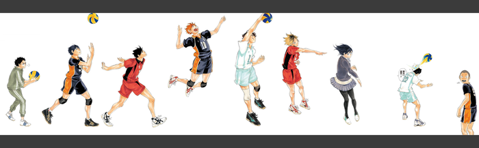 Haikyuu!! by Rui05