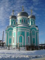 Big Orthodox church by Mihenator