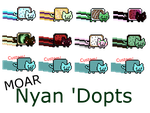 Moar Nyan 'Dopts |Closed| by FlightThroughChaos