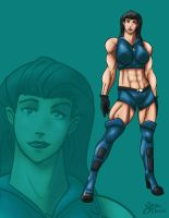 Fantastic Lin AngelFallsRoster by Sean-Loco-ODonnell