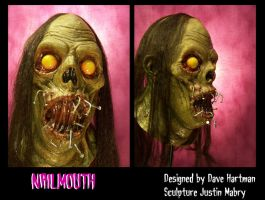 Nail mouth mask by Justin-Mabry