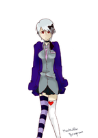 Knell Don-NE Choe- OC Vocaloid by CaptRainbowMacMuffin