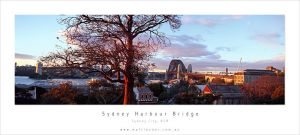Sunset Sydney Harbour Bridge by MattLauder