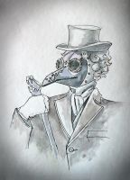 Plague Doctor by vivaelpato
