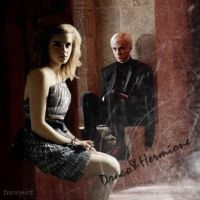 Draco and Hermione by teenspirit3