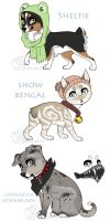 Animal Adopt Batch CLOSED by jealousapples