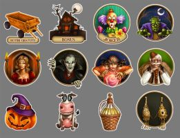 Game pieces by maria-istrate