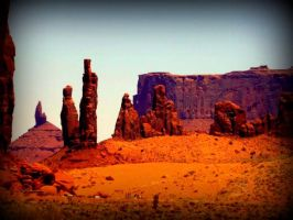 Monument Valley 7 by spidermonkeykiss