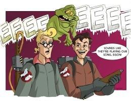 Ghostbusters Color by LostonWallace