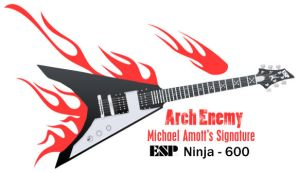 Michael Amott ESP Guitar by tayzar44