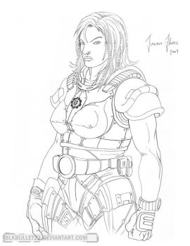 Gears of War - Female Gear 3 by BlkBullet23