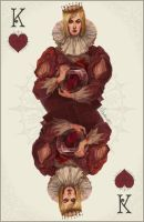 King of Hearts - colour- by Quberon