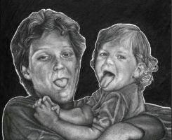 Melanie and her Mum by ChemicalsSavedMe