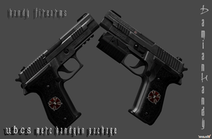 U.B.C.S. Merc Handgun Pack by DamianHandy