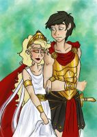 Ancient Greece Heroes by TottieWoodstock