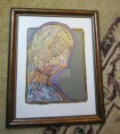 framed pencil crayon beautiful by creativeserenity87