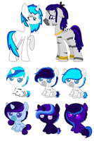 .:: MLP BA :: Tone x Record Heart :: Closed ::. by Uzu-Adoptables