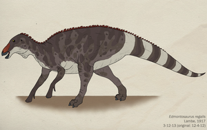 094--EDMONTOSAURUS REGALIS by Green-Mamba
